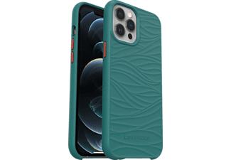 LIFEPROOF Wake, Backcover, Apple, iPhone 12 Pro Max, Grün/Orange