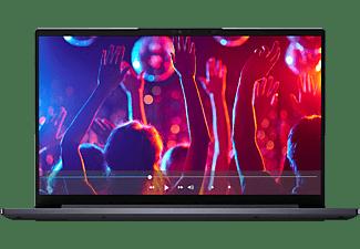 LENOVO Yoga Slim 7i EVO, Notebook mit 14 Zoll Display, Core™ i5 Prozessor, 8 GB RAM, 512 GB SSD, Intel Iris Xe, Schiefergrau