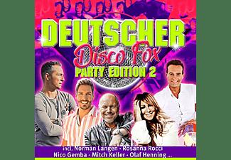 VARIOUS - Deutscher Disco Fox: Party Edition 2  - (CD)
