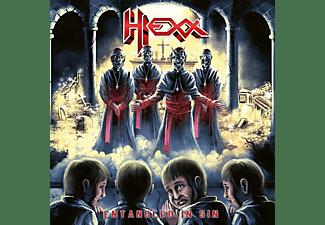 Hexx - ENTANGLED IN SIN (RED VINYL)  - (Vinyl)