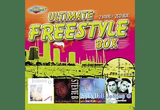 VARIOUS - ULTIMATE FREESTYLE BOX (+CD)  - (Vinyl)