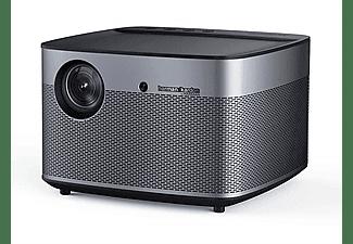 """Mini proyector - Xgimi H2, DLP, Full HD, 3D, 1350 lúmenes, hasta 300"""", Airplay, Harman Kardon, Negro"""