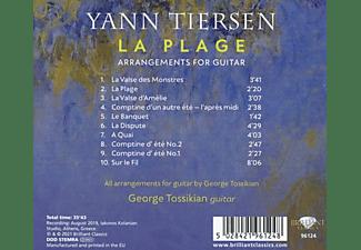George Tossikian - TIERSEN: LA PLAGE, ARRANGEMENTS FOR GUITAR  - (CD)
