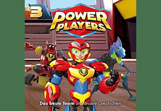 Power Players - 03: Das Beste Team Und Andere Geschichten  - (CD)