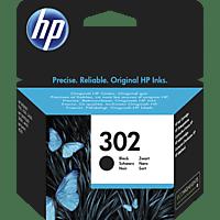 HP 302 Tintenpatrone Schwarz (F6U66AE)