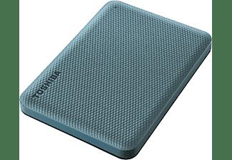 TOSHIBA Canvio Advance, externe Festplatte, 2 TB, Grün Festplatte, 2 TB HDD, 2,5 Zoll, extern, Grün