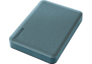 TOSHIBA Canvio Advance, externe Festplatte, 4 TB, Grün Festplatte, 4 TB HDD, 2,5 Zoll, extern, Grün