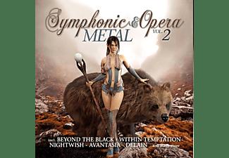 VARIOUS - SYMPHONIC & OPERA METAL VINYL EDITION 2  - (Vinyl)