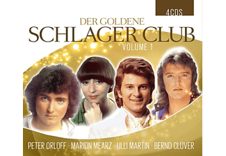 ORLOFF, PETER-MAERZ, MARION-MARTIN, ULLI-CLÜVER, B - DER GOLDENE SCHLAGERCLUB VOL.1  - (CD)
