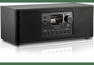 PEAQ PDR 270 BT-B Internetradio, DAB+, FM, Internet Radio, Bluetooth, Schwarz