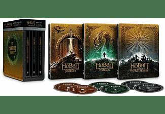 DER HOBBIT (STEEL-EDITION TRILOGIE) 4K Ultra HD Blu-ray