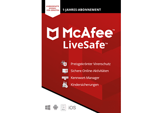 McAfee LiveSafe Attach (Code in a Box) - [Multiplattform]