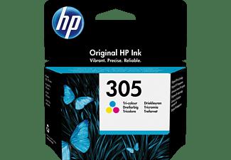HP 305 Tri-color Original Ink Cartridge (3YM60AE) Tintenpatrone Cyan, Magenta, Gelb