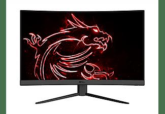 """Monitor gaming - MSI Optix G32CQ4, 31.5"""" WQHD, VA, 1 ms, 165 Hz, AMD FreeSync, Frameless, Curvado, Negro"""