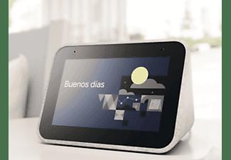 Reloj despertador inteligente - Lenovo Smart Clock ZA4R0025SE, 1 GB RAM, 3W, WiFi, Bluetooth, Gris