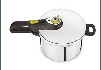Olla express - Tefal Secure Neo 5 Pressure Cooker, 4 L, Acero inoxidable, 5 Dispositivos de seguridad, Inox