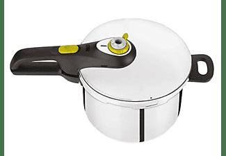 Olla express - Tefal Secure Neo 5 Pressure Cooker, 8 L, Acero inoxidable, 5 Dispositivos de seguridad, Inox