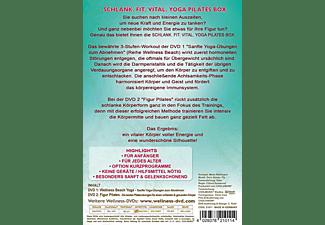 Schlank.Fit.Vital.Yoga Pilates Box [DVD]