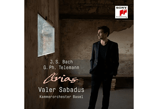 KO Basel/Sabadus,Valer/Schröder,Julia - Bach And Telemann: Arias  - (CD)