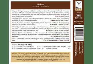 Idil Biret - IDIL BIRET ARCHIVE EDITION, VOL. 20 : IDIL BIRET P  - (CD)