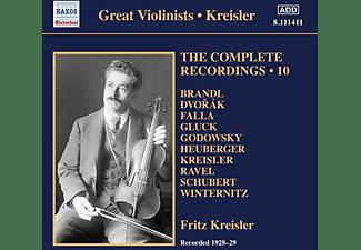 KREISLER,FRITZ/LAMSON,CARL - The Complete Recordings - Vol.10  - (CD)