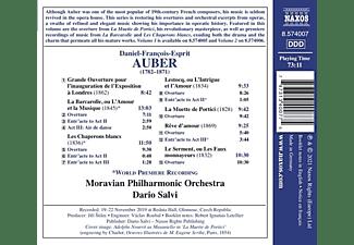 Dario/moravian Philharmonic Orchestra Salvi - OVERTURES, VOL. 3  - (CD)
