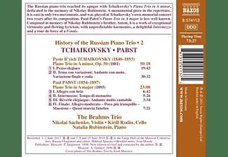 Trio Brahms - History of the Russian Piano Trio - 2  - (CD)