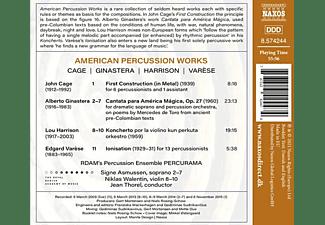 Asmussen,Signe/Walentin,Niklas/Thorel,Jean/+ - American Percussion Works  - (CD)
