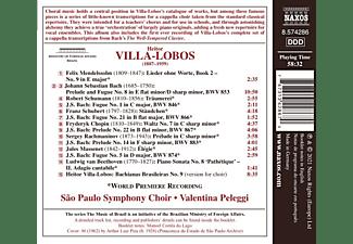 Valentina/sao Paulo Symphony Choir Peleggi - CHORAL TRANSCRIPTIONS  - (CD)