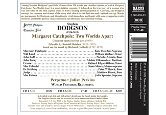 Julian/perpetuo/+ Perkins - MARGARET CATCHPOLE: TWO WORLDS APART  - (CD)
