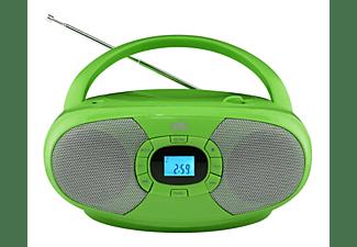 Reproductor CD - OK ORC 131-GR, AM / FM, 60 W, Sintonizador digital, Verde