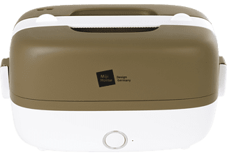 MIJI Cooking Box One, Olive-Weiss Dampfgarer (250 Watt, Olive/Weiß)