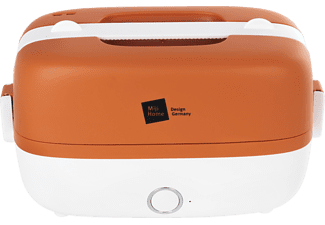 MIJI Cookingbox One Orange/Weiss Dampfgarer (250 Watt, Orange/Weiß)