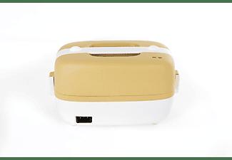MIJI Cookingbox One Sand/Weiss Dampfgarer (250 Watt, Sand/Weiß)