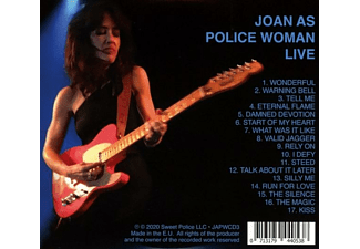 Joan As Police Woman - LIVE  - (CD)