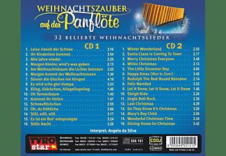 Angelo Da Silva - Weihnachtszauber auf der Panflöte  - (CD)