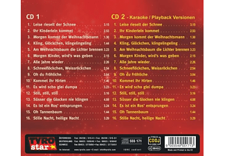 Die Sternenkinder - Die schönsten Weihnachtslieder zum Mitsingen  - (CD)
