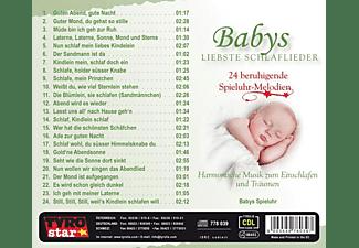 Babys Spieluhr - Babys Liebste Schlaflieder  - (CD)