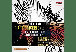 Triendl/Vogler Quartett/Kluttig/Rundfunk-SO Berlin - Klavierkonzert op.21  - (CD)