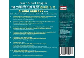 Arimany/Leone/Sánchez/Bas/+ - The Complete Flute Music - Volume 12 / 12  - (CD)