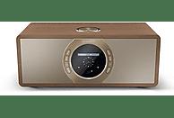 Radio - Sharp DR-I470 Pro, Por Internet, 30 W, Alarma, Bluetooth, Marrón