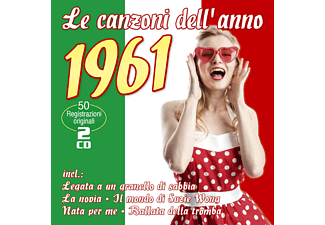 VARIOUS - Le Canzoni Dell'anno 1961  - (CD)