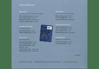 VARIOUS - Tigran Mansurian: Con Anima  - (CD)