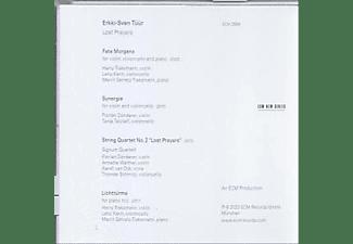 Harry Traksmann, Leho Karin, Marrit Gerretz-Traksmann, Florian Donderer, Tanja Tetzlaff, Signum Quartett - ERKKI-SVEN TÜÜR LOST PRAYERS  - (CD)