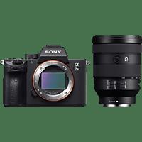 SONY Systemkamera Alpha 7 III mit Objektiv FE 24-105mm f4 G OSS Schwarz
