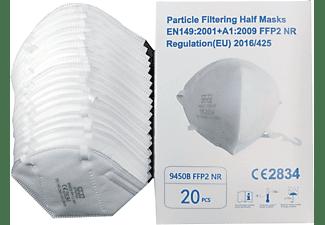 DIWA FFP2 Maske Atemschutzmaske, Partikelfiltermaske, EU CE Zertifiziert, 20 Stück