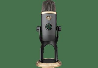 Micrófono - Blue Yeti X Edición World of Warcraft, Con soporte, 100 dB, USB, Cable 2 m, Para PC y Mac, Negro