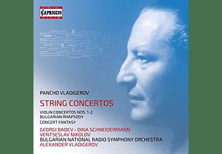 Badev,G./Vladigerov,A./Bulgarian National RSO - The String Concertos  - (CD)