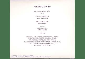 Lucia Cadotsch - SPEAK LOW II  - (CD)