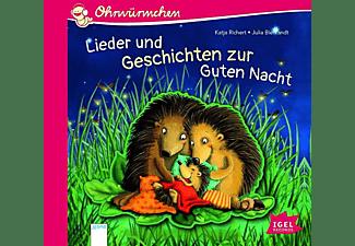 Katja Richert - Ohrwürmchen: Lieder und Geschichten zur Guten Nach  - (CD)